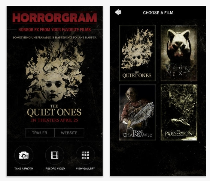 horrorgram screen