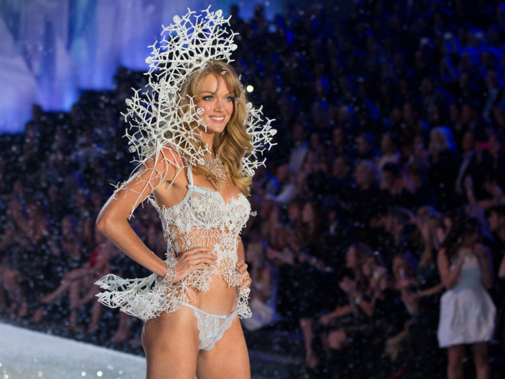 "Lindsay Ellingson nosi ""snežni model"" Victoria's Secret donjeg veša, odštampan uz pomoć 3D štampača |Foto: shapeways.com"