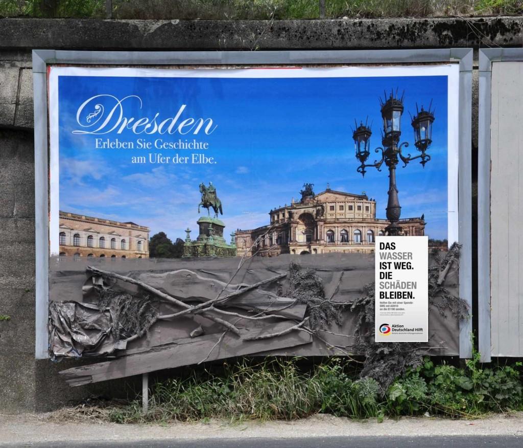 Dresden: Doživite istoriju na vodenom frontu Elbe. Voda je otišla, ali je šteta ostala.