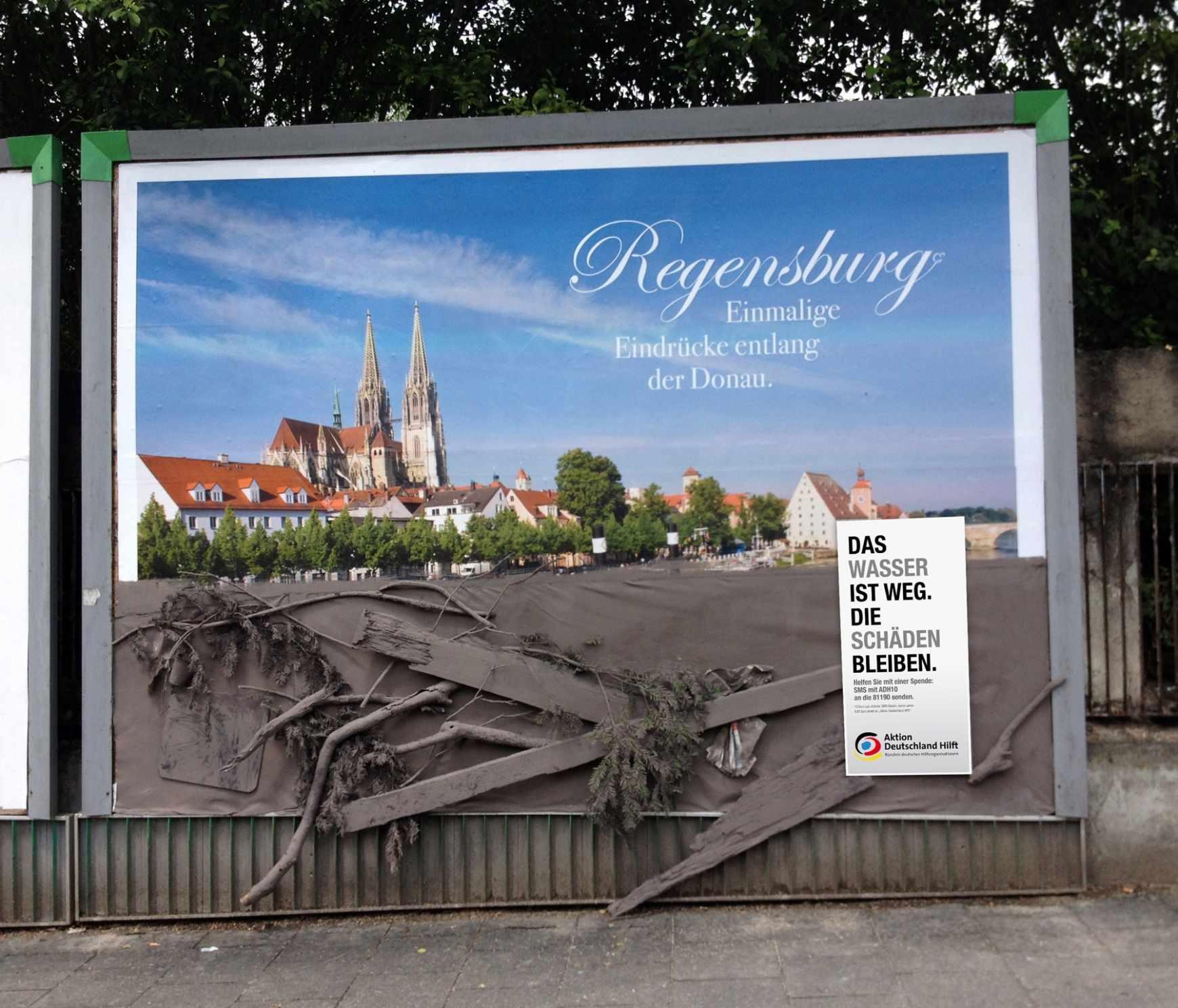 Aktion Deutschland hilft Regensburg