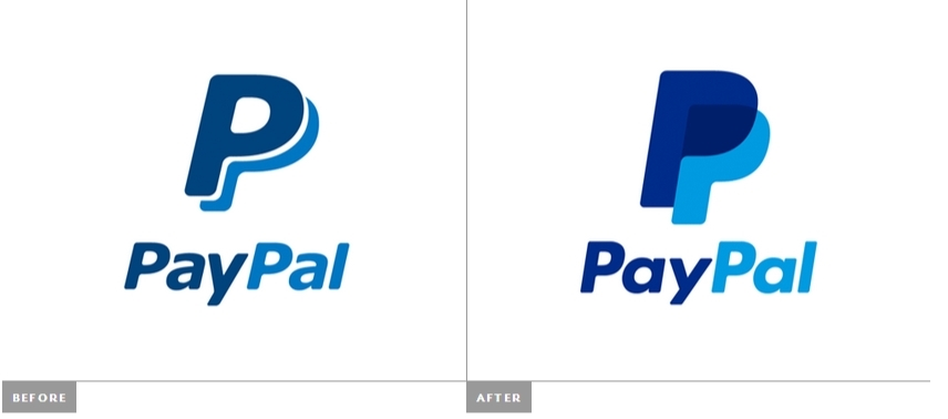 paypal new old logo