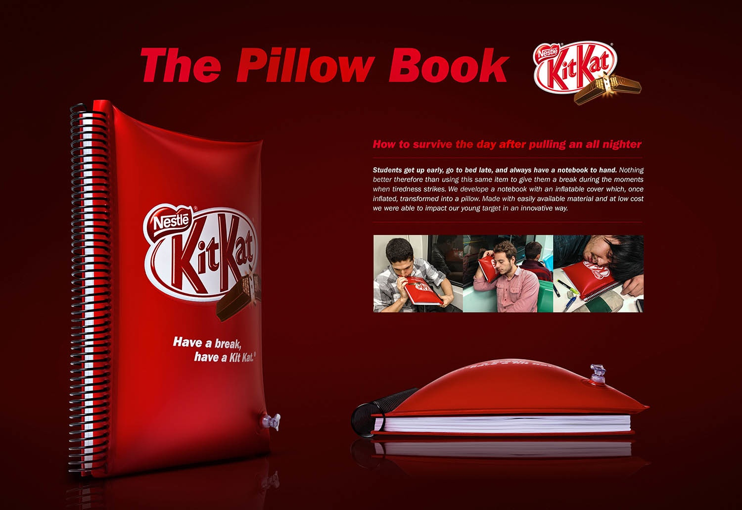 pillow book kit kat