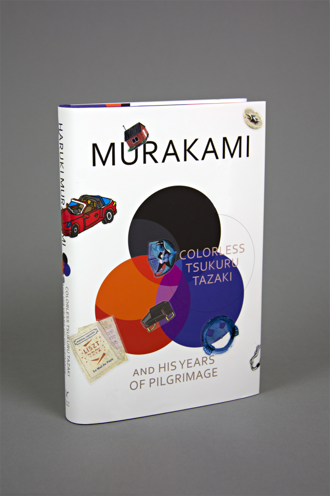 stickered book haruki murakami