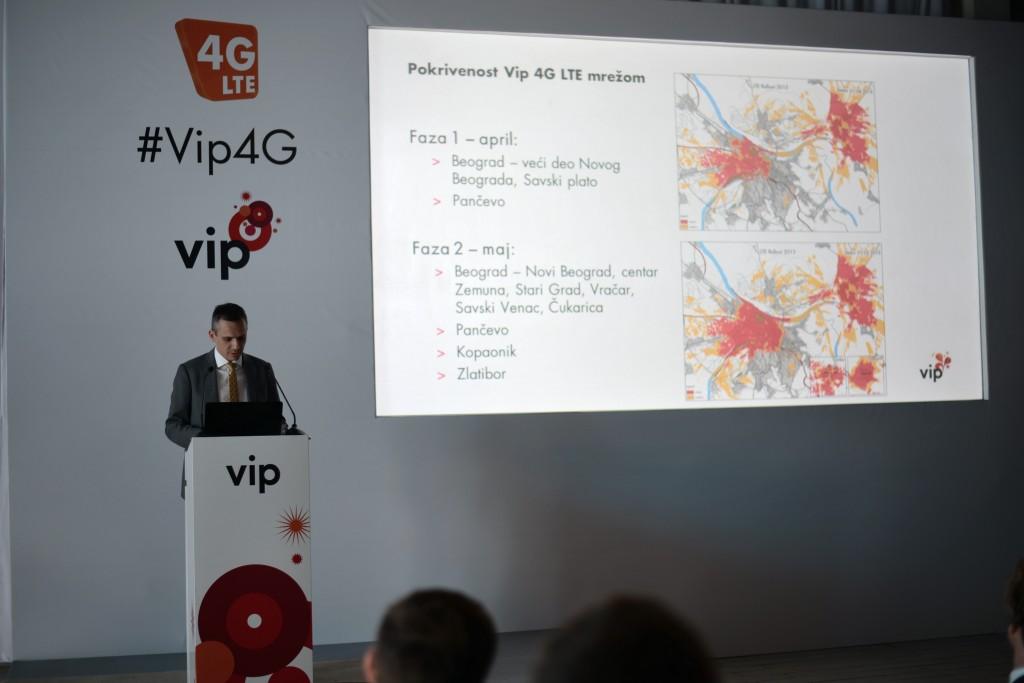Dejan Kastelic, CTO Vip, 4G LTE pokrivenost u prvoj  fazi