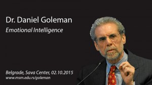 Dr. Daniel Goleman - Emotional Intelligence @ Sava Centar | Belgrade | Serbia