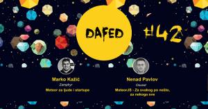 DaFED 42 @ Amfiteatar centralne zgrade Univerziteta u Novom Sadu | Novi Sad | Vojvodina | Serbia